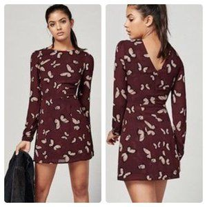 Reformation Blaire Dress Mariposa Butterfly Print